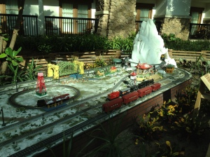 Trains at the Gaylord Texan
